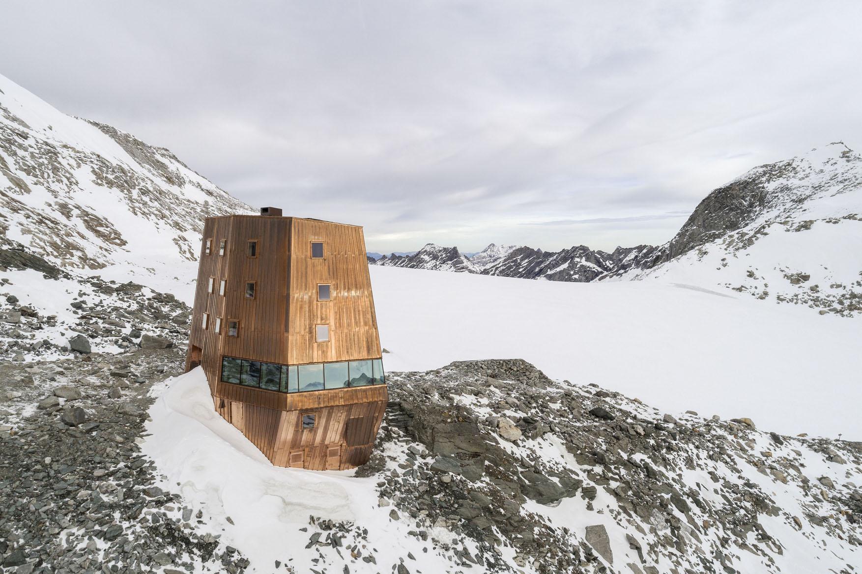 Neue Architektur In Südtirol 2006 2012: Neue Schwarzensteinhütte, Südtirol