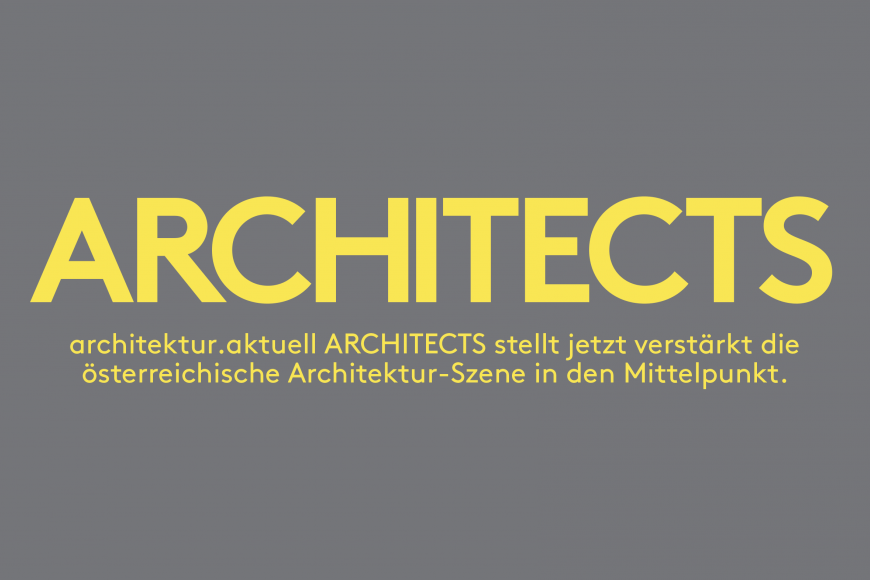 architektur.aktuell ARCHITECTS 2021