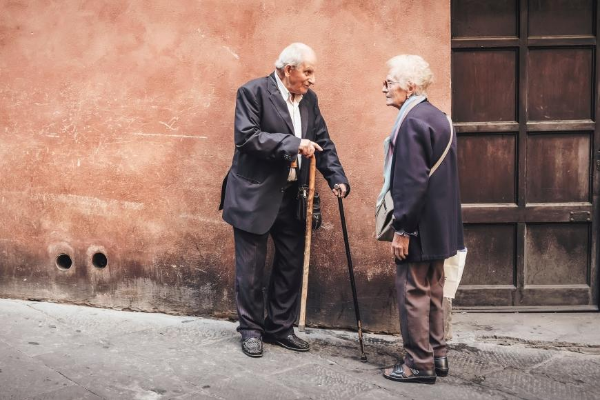 In Conversation Photo by Cristina Gottardi on Unsplash