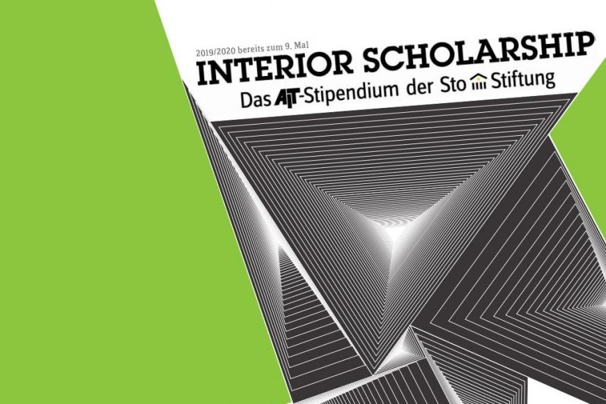 Flyer Interior Scholarship; (c) AIT-ArchitekturSalons