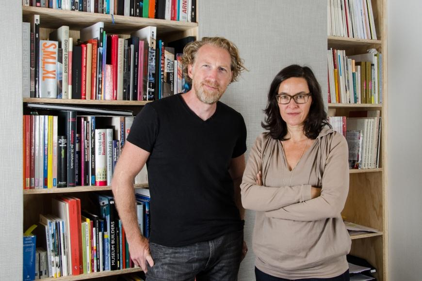 Bettina Krauk und Michael Neumann © synn Architekten
