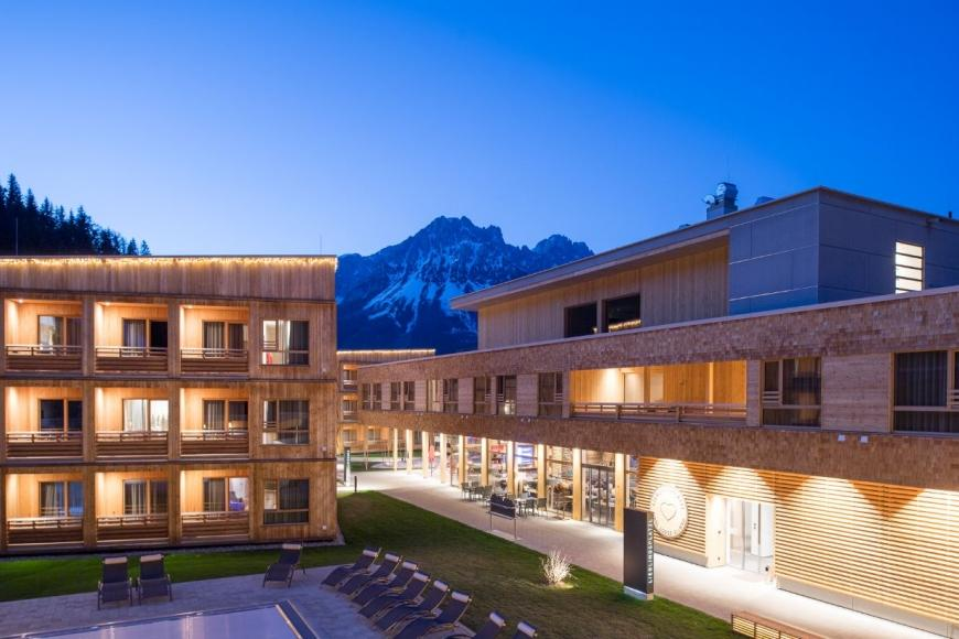 Tirol Lodge von Architekt Bruno Moser in Ellmau am Wilden Kaiser Photo: archimos