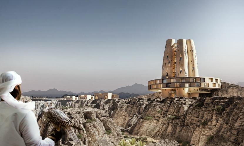 Hatta Resort, VAE, Rendering by obermoesr + partner architekten