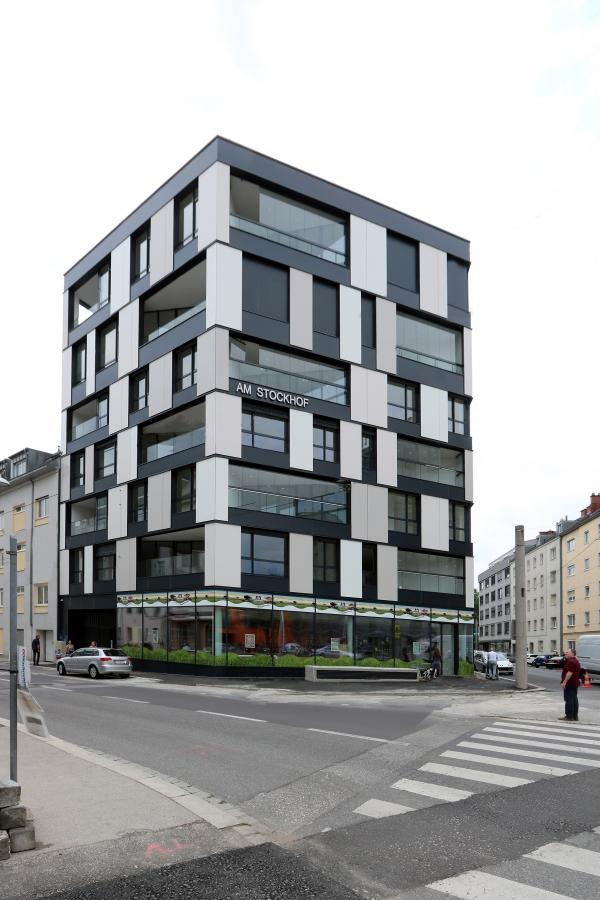 Am Stockhof mit Riepl Riepl Architekten; © waax