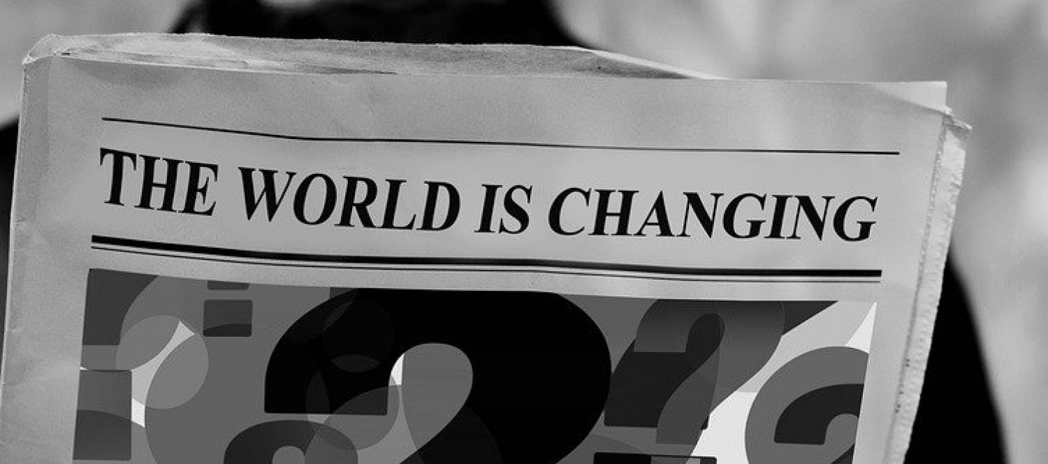 The World Is Changing (c) pixabay
